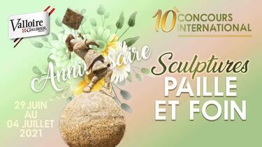 © 10e Concours de sculptures sur paille & foin - <em>M. Collomb / Valloire Tourisme</em>