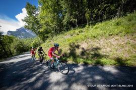 Passage du Tour de Savoie Mont-Blanc