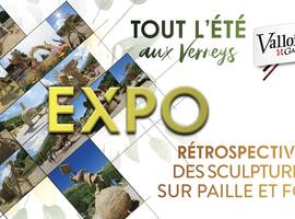 Exposition rétrospective du concours de Sculptures Paille et Foin