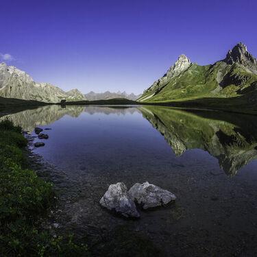 © Lac des Cerces - <em>M. Zimmer / Valloire Tourisme</em>