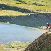 © Randonnée des 3 lacs Valloire - lac du grand Ban - <em>A. Pernet / valloire Tourisme</em>