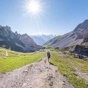 © Randonnée des trois lacs Valloire - camps des Rochilles - <em>A. Pernet / Valloire Tourisme</em>