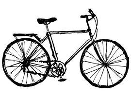 Exposition : Fresques et empreintes de vélo