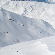 © Vue montagne sur le Domaine Galibier Thabor Valmeinier - <em>Office de tourisme de Valmeinier</em>