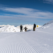 © pause sur les pistes du Domaine Galibier Thabor Valmeinier - <em>Office de tourisme de Valmeinier</em>