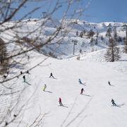 © Piste de ski débutant à Valloire - <em>A. Pernet / Valloire Tourisme</em>