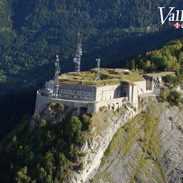 © Vue aérienne du fort - <em>André Bertrand / Ot Valloire</em>