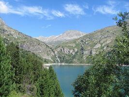 Montée au lac de Plan d'Aval