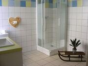 © Salle de bain privative - <em>La Cascade - Avrieux</em>