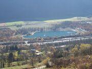© Parcours Pêche de Savoie du plan d'eau de Barouchat - <em>OT Porte de Maurienne</em>