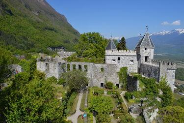 © Chateau de Miolans - <em>OT Coeur de Savoie</em>