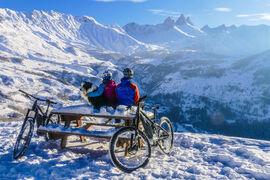 Sortie Fat Bike & E-Bike sur neige
