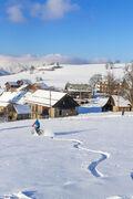 © VTT électrique sur neige - <em>Arvan VTT/Montagne</em>
