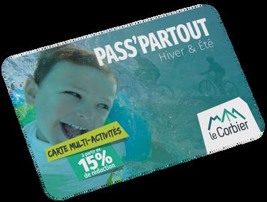 © Carte Pass Partout - <em>Corbier Tourisme</em>