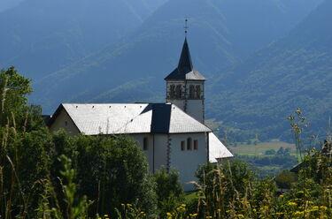 © Eglise de Saint Alban d'Hurtières - <em>OT Porte de Maurienne</em>