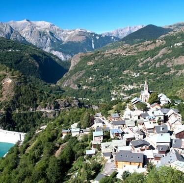 © village de Mizoën - <em>Mizoën</em>