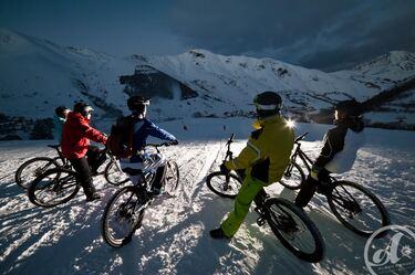 © VTT sur neige - <em>alban pernet</em>