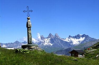 © Col de la Croix de Fer à Saint Sorlin d'Arves - Domaine des Sybelles - <em>© Office de Tourisme de Saint-Sorlin-d'Arves</em>