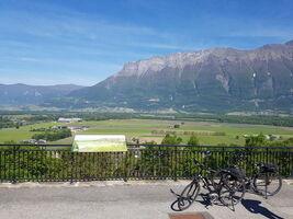 Fort et vignobles en vélo électrique