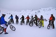 © VTT sur neige - <em>Office de Tourisme de Saint Sorlin d'Arves</em>