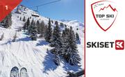 Skiset 1 Front de neige 1800