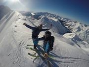 © Sortie ski de randonnée - <em>Arvan vtt / L. Gaboriau</em>