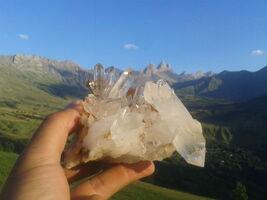 Chasse aux cristaux