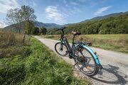 © Borne de location VAE - Vélo à Assistance Electrique - Saint Alban d'Hurtières - <em>A.Pernet - Maurienne Tourisme</em>