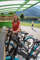 Borne de location VAE - Vélo à Assistance Electrique - Saint Alban d'Hurtières