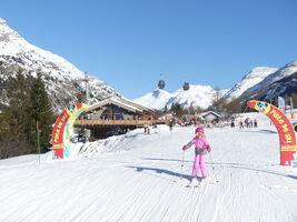 Domaine skiable débutant de Val Cenis