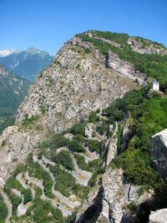Le Tour du Chatel par les Lacets de Montvernier