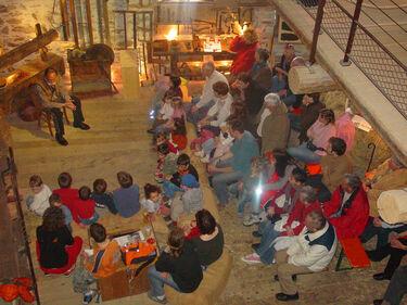 © aussois-soirée-conte-avec-zian-des-alpes-au-musée-arche-oé - <em>MO. OT AUSSOIS</em>