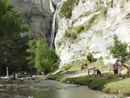 Cascade de Saint-Benoit