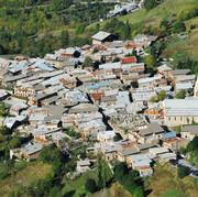 Vue aérienne de Besse-en-Oisans