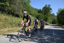 Grimpée cycliste chronométrée de La Toussuire
