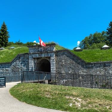 © Entrée du fort - <em>Fort de Tamié</em>