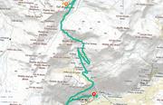 © bonneval-sur-arc-parcours-montee-cyclo-iserane - <em>www.geoportail.gouv.fr</em>