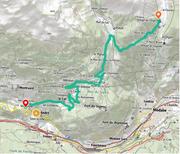 © montee-cyclo-orgere-plan - <em>www.geoportail.gouv.fr/</em>