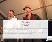 """Spectacle Fil Rouge programmé au Festival """"Le Spectacle est dans la rue"""" @LaToussuire"""