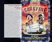 """Spectacle """"Crazy Caravane"""" programmé au  Festival """"Le Spectacle est dans la rue"""" @LaToussuire"""