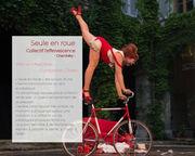 """Spectacle """"Seule en Roue"""" programmé au  Festival """"Le Spectacle est dans la rue"""" @LaToussuire"""