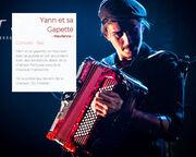 """Concert """"Yann et sa Gapette"""" programmé au  Festival """"Le Spectacle est dans la rue"""" @LaToussuire"""
