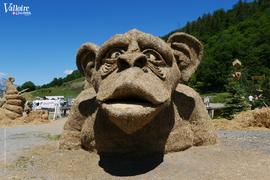 Visite commentée des Sculptures sur Paille et Foin