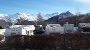 © Camping hiver - <em>@Camping du Col</em>
