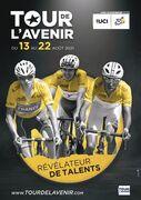 © affiche Tour de l'Avenir - <em>Alpes Vélo</em>